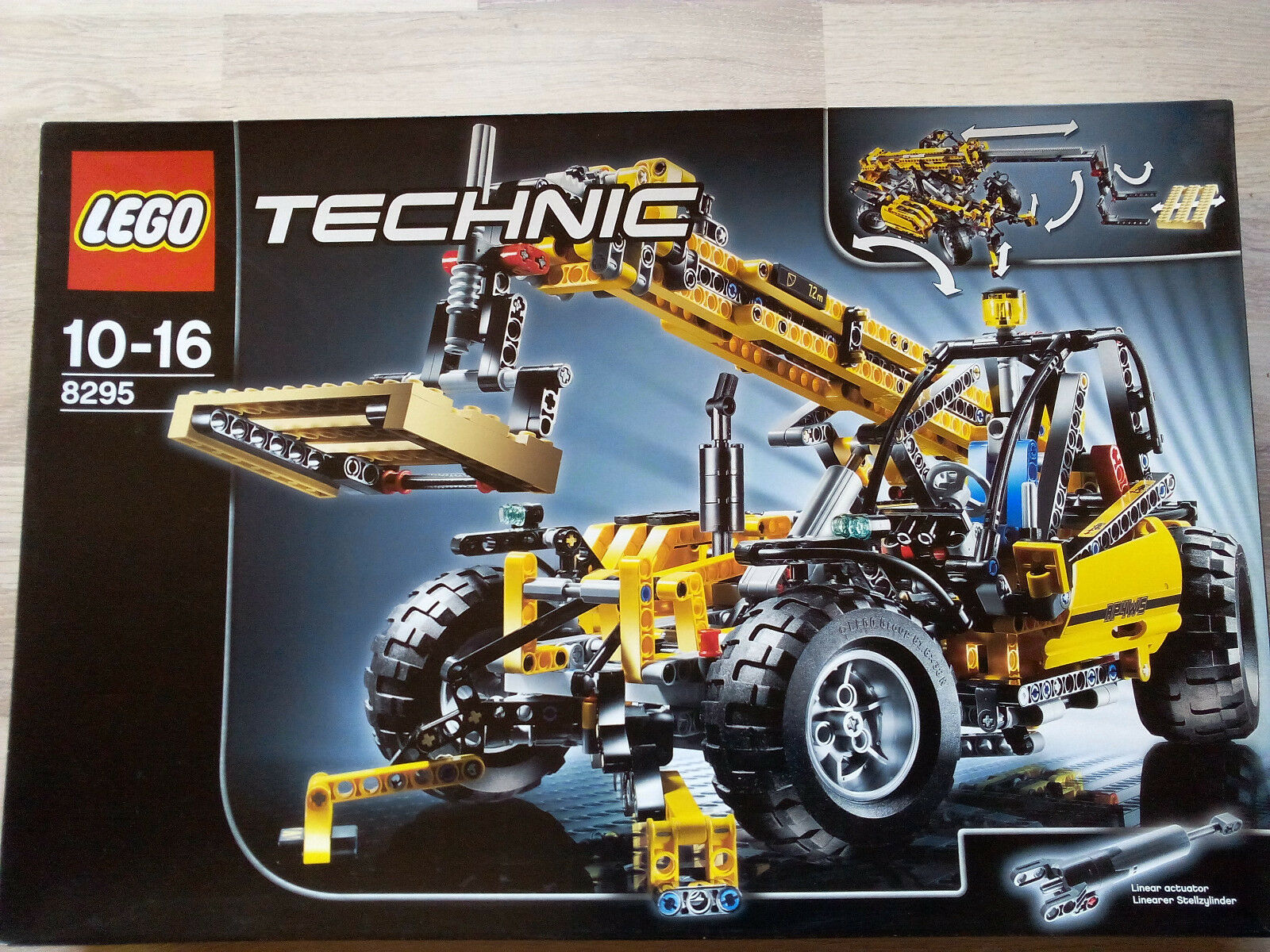 Lego Technic Technik 8295 Telescopic Handler   NEU & OVP - UNGEÖFFNET