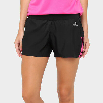 Angemessen Ay1542 Adidas Women's Ozweego Climalite Shorts Genuine Size -s 3'' -m 4'' -l 4''