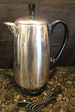 Vintage FARBERWARE SUPERFAST Electric 12-CUP COFFEE MAKER PERCOLATOR #142B *EUC*