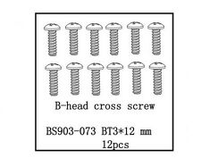 Redcat Racing B-Head Cross Screw (BT3*12) Caldera Earthquake Part #  BS903-073
