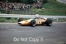 Bruce McLaren McLaren M7A Winner Belgian Grand Prix 1968 Photograph 1