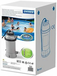 Professional swimming pool above ground warner frame pools electric pool heater ebay for Intex 3kw electric swimming pool heater
