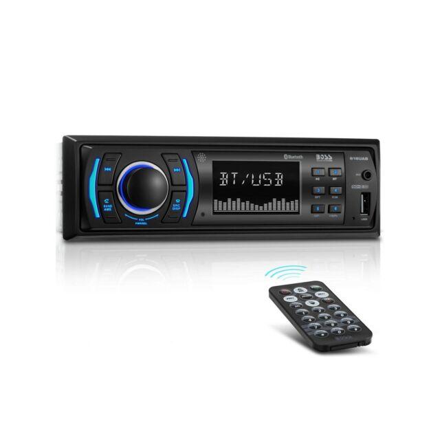 BOSS Audio 616UAB Multimedia Car Stereo – Single Din LCD, Bluetooth Audio/Cal...