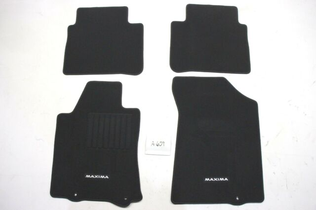New OEM Black Floor Mats Nissan Maxima 2016-2020 T99E2-4RA0A 4 piece Genuine Set