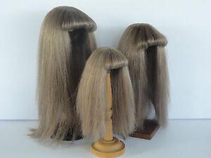 PELUCA-100-cabellos-natural-T2-20-5cm-para-MUNECA-ANTIGUA-G-BRAVOT