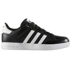 ADIDAS VARIAL LOW BLACK MEN 'S SNEAKERS SHOES SKATE SHOES LEATHER BLACK by4055