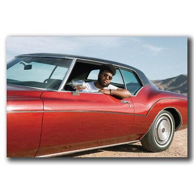 Details about  /Art Poster 24x36 27x40 Khalid With The Car Rap Music Singer T-631