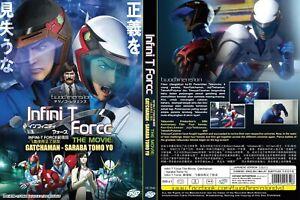 ANIME-DVD-Infini-T-Force-The-Movie-Gatchaman-Saraba-Tomo-Yo-Eng-sub-FREE-SHIP