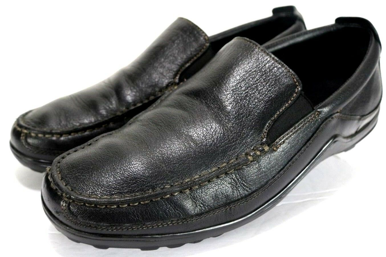 Cole Haan Tucker Venetian  150 Men's Loafers Size 9 Leather Black