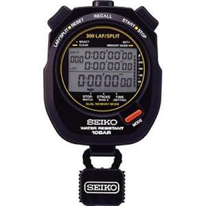 SEIKO Swimming Master Aquatic Sports S141 300 Lap Stopwatch SVAS003 waterproof
