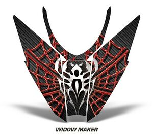 Sled-Hood-Graphics-Kit-Decal-Wrap-For-Arctic-Cat-Pro-Climb-Cross-12-16-WIDOW-R-K