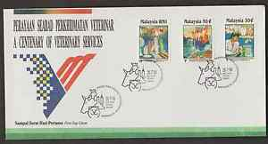 F181-MALAYSIA-1994-A-CENTENARY-OF-VETERINARY-SERVICE-amp-ANIMAL-INDUSTRY-FDC