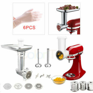 Food-Meat-Grinder-Attachment-Vegetable-Slicer-Shredder-For-KitchenAid-StandMixer