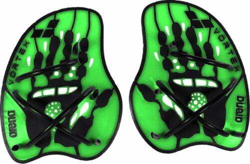arena Vortex Evolution Hand Paddle acid lime-black Trainingstool Schwimmen