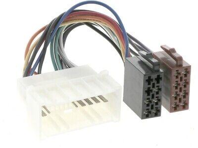 Para Hyundai amica atos Coupe 3k Elantra 2 HD Getz h-1 Auto Radio Adaptador Cable