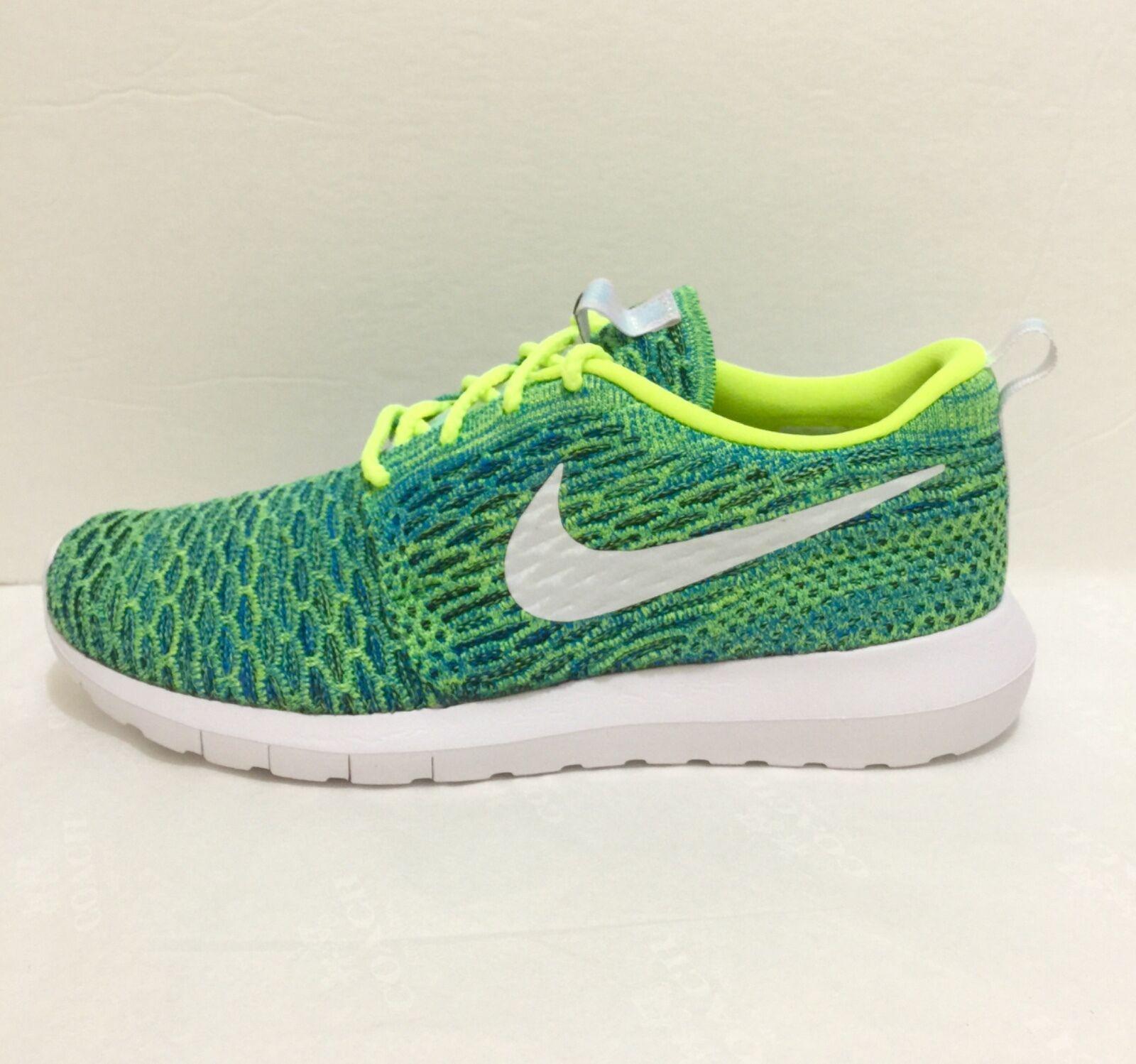 New Women's Nike Roshe NM Flyknit QS Running Shoes Multi-Size SKU 846200 700