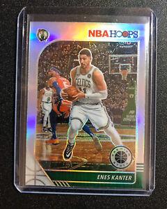2019-20 NBA Hoops Premium Stock Enes Kanter Prizm Silver Boston Celtics #164