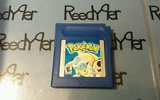 AUTHENTIC Blue Version Pickany6 Pokemon Mew SAVES Nintendo GameBoy color gba sp