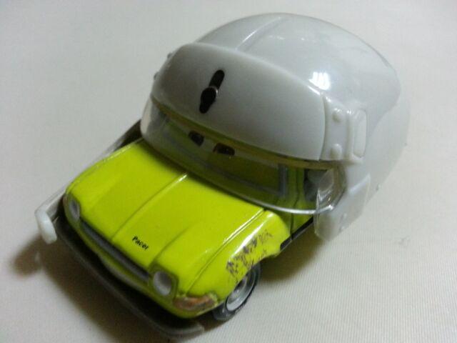 Mattel Disney Pixar Car Acer with Helmet 1:55 Loose New In Stock