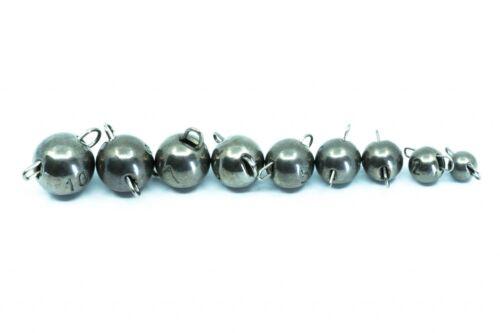 Fisherino Tungsten Cheburashka Jig Kopf Flexibler Jigkopf von 1g bis 6g