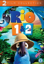 DVD:RIO / RIO 2 - NEW Region 2 UK