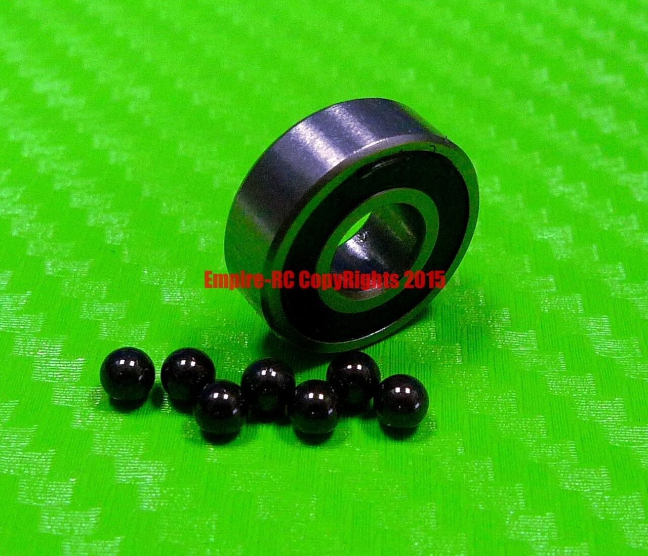 [QTY 10] (3x10x4 mm) 623-2RS HYBRID CERAMIC Si3N4 Ball Bearing Bearings 623RS