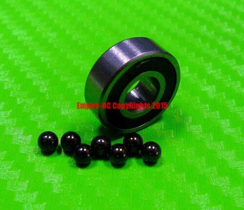 5x16x5 mm QTY 2 625-2RS HYBRID CERAMIC Si3N4 Ball Bearing Bearings 625RS