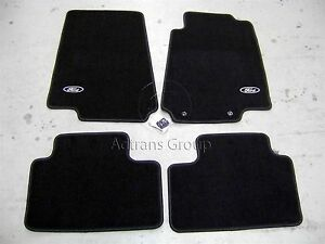 Genuine Ford Oem Ba Bf Falcon 2002 2010 Black Tailored Carpet Floor Mats Mat Set Ebay
