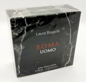 Roma Homme 75ML Après-rasage Lotion après Rasage Laura Biagiotti Apres Ras