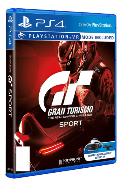 Gran TURISMO SPORT (Sony Playstation 4, 2017)