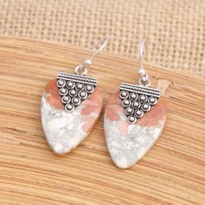Maligano-Jasper-925-Sterling-Silver-Drop-Earrings-Jewellery-N2