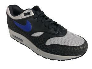Nike Air max 1 SE Reflective 3M Safari Off Noir Hyper Blue BQ6521 001 CW | eBay