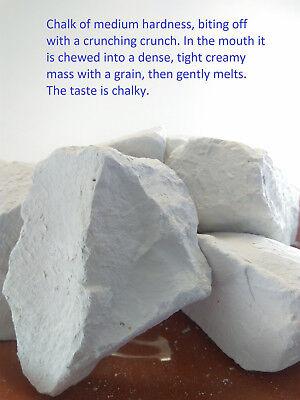 natural for eating food 110 g VALUYCHIK edible Chalk chunks 4 oz lump