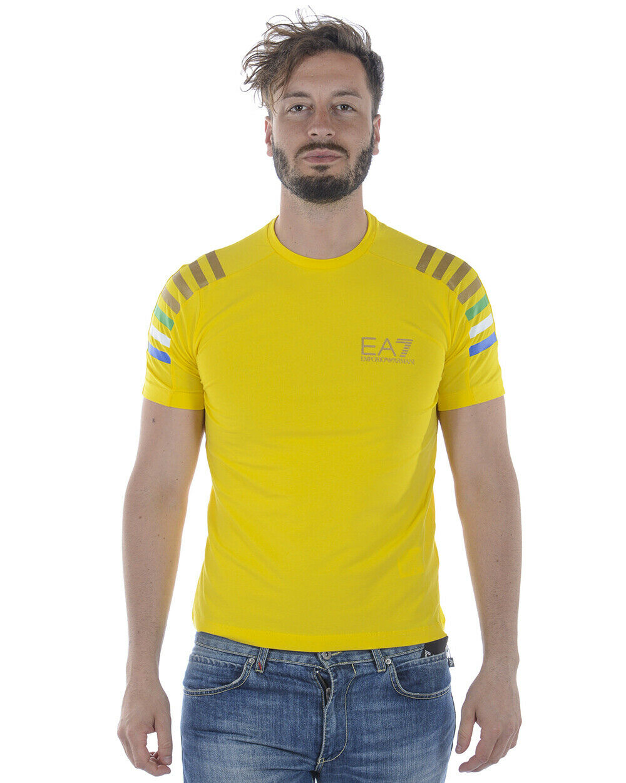 Emporio Armani EA7 T Shirt Man Gelb 3ZPTA8PJM5Z 1630 Sz XXL MAKE OFFER