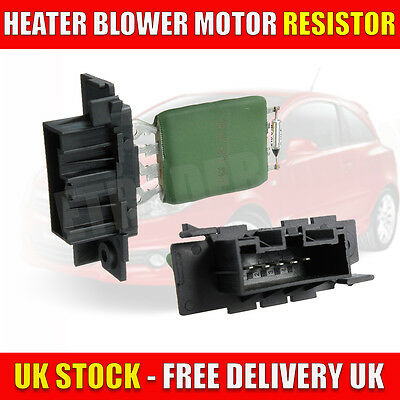 Fits For Vauxhall Opel Corsa D Heater Resistor Blower Cabin 13248240 Resister