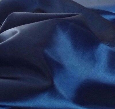 """Royal Blue  Taffeta 100% Polyester 59/60"""" wide by the yard or roll. Free swatch."""