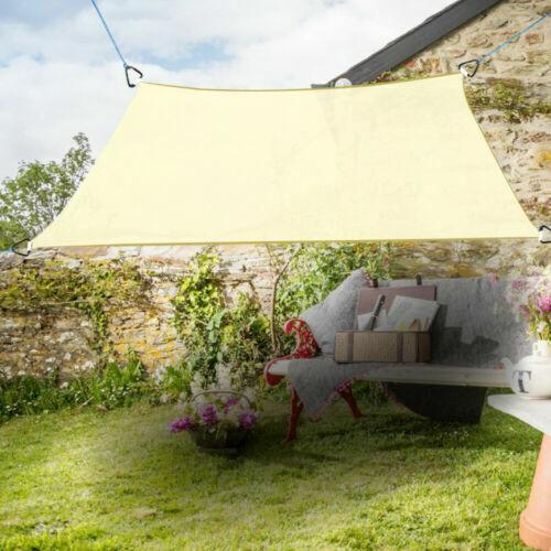 Garden Patio Sun Shade Sail Waterproof Sunscreen Sun 98/% UV Block Canopy Awning