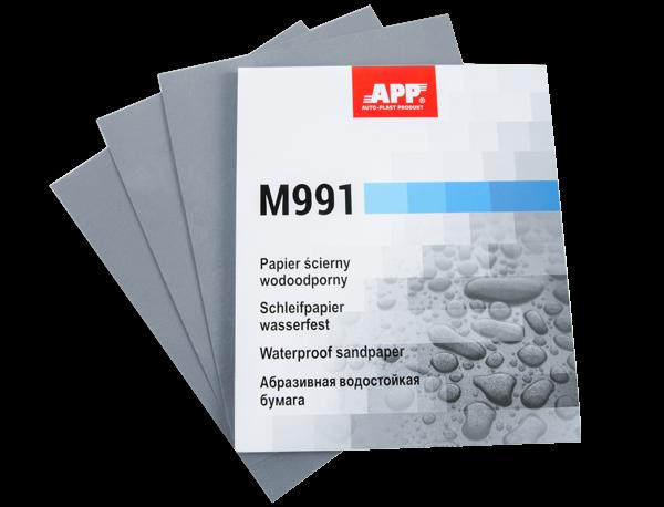 Wasserschleifpapier 230 mm x 280 mm P1200 50 Blatt