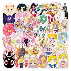 NEW-20-Different-SAILOR-MOON-Art-Stickers-Laptop-Walls-PC-039-S-etc