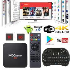 2018 MXQ PRO 4K HD Quad Core WiFi 3D Smart TV Box Media Player Android 7 Kodi 18