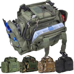 Fishing-Waterproof-Bag-Tackle-Storage-Box-Waist-Shoulder-Carry-Handbag-Pouch-US