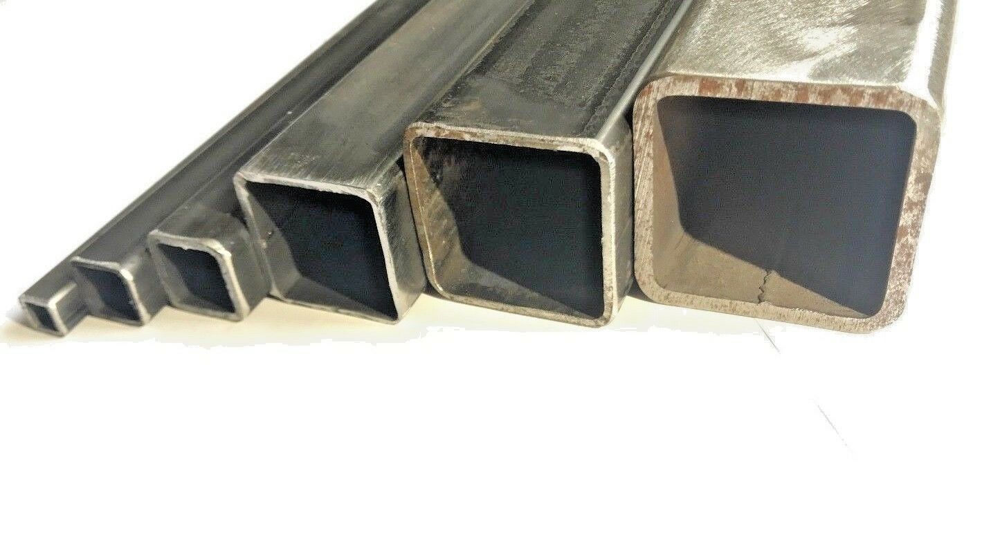 Mild Steel Box Section/Square Hollow Section | LARGE SELECTION | 38 SIZES