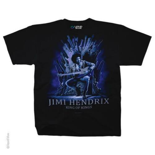 OFFICIAL LICENSED ROCK IMPORT JIMI HENDRIX KING OF KINGS T SHIRT
