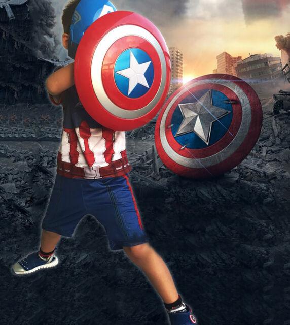 Kids 32CM Captain America Shield Costume Accessory Toy Superhero Avengers