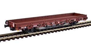 Viessmann-2310-H0-Wagon-a-Bords-Bas-Avec-Moteur-Braun-Neuf