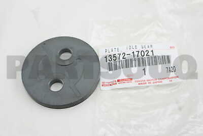 IDLE GEAR THRUST 13572-17021 1357217021 Genuine Toyota PLATE