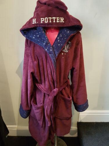 Nuovo con Etichetta Primark Harry Potter Pigiama in Pile o Vestaglia Hogwarts