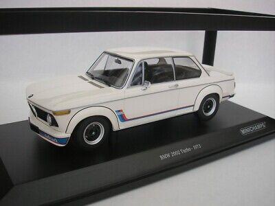 BMW 2002 Turbo 1973 orange 1:18 Minichamps 155026202 neu /& OVP