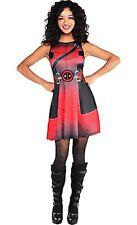 Deadpool Wade Wilson Sleeveless Female Costume Dress Marvel Comics Size 6-8 New