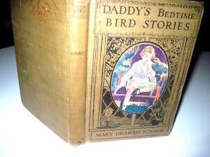 DADDY-039-S-BEDTIME-BIRD-STORIES-ILLUS-HC-1917-by-Mary-G-Bonner-illus